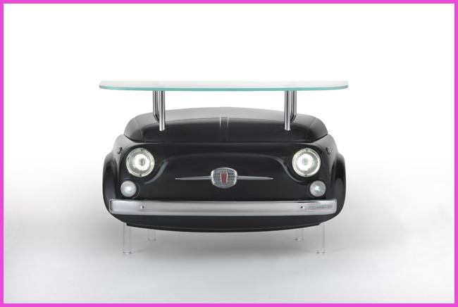 Auto arredamento un auto mobile in casa - Fiat 500 divano ...