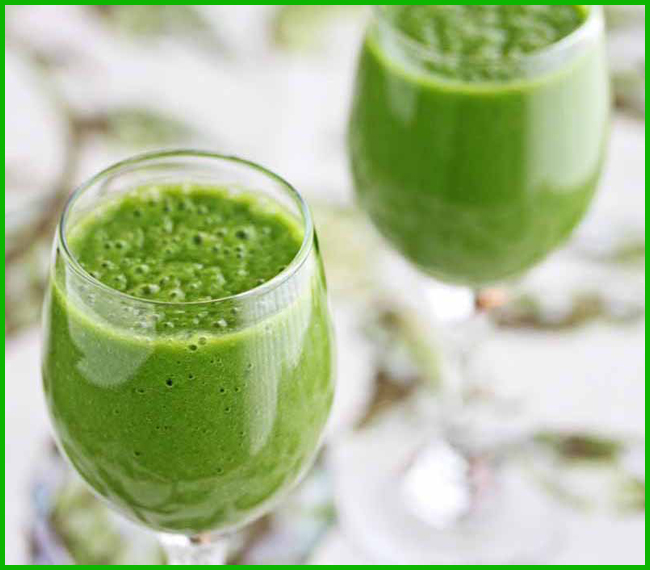 Tweedot blog magazine - frullato verde