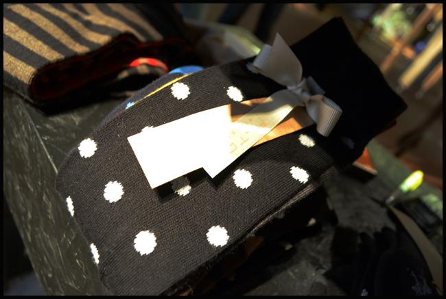 Tweedot blog magazine - Alto Milano black and white pois socks Made in Italy