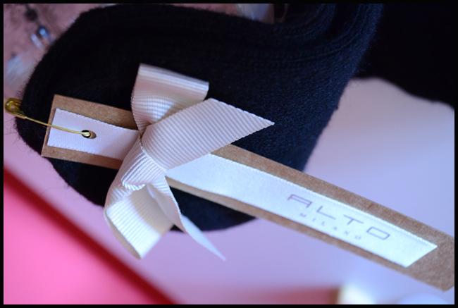 Tweedot blog magazine - Alto Milano bow pack for socks