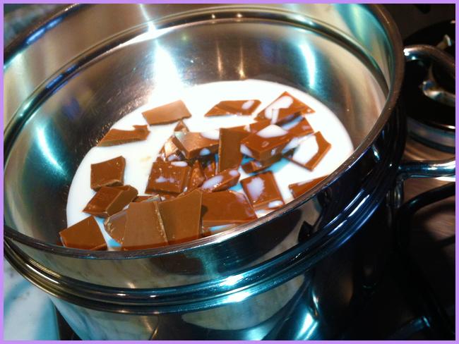 Tweedot blog magazine - cioccolato fuso per glassare dolcetti di compleanno