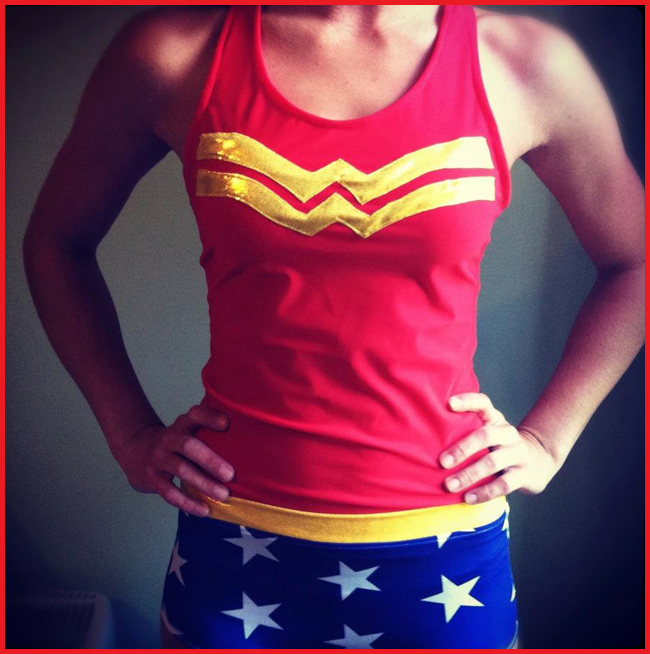 Tweedot blog magazine - coregasm orgasmo da fitness wonder woman