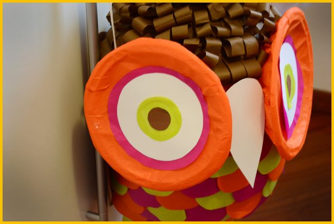 Tweedot blog magazine - handmade birthday pinata