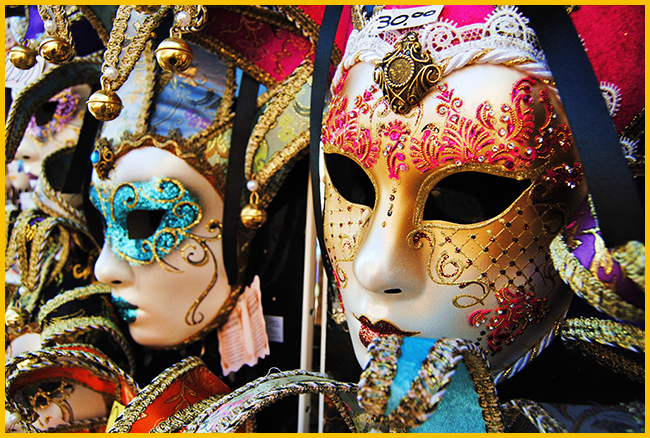 Tweedot blog magazine - maschere Carnevale