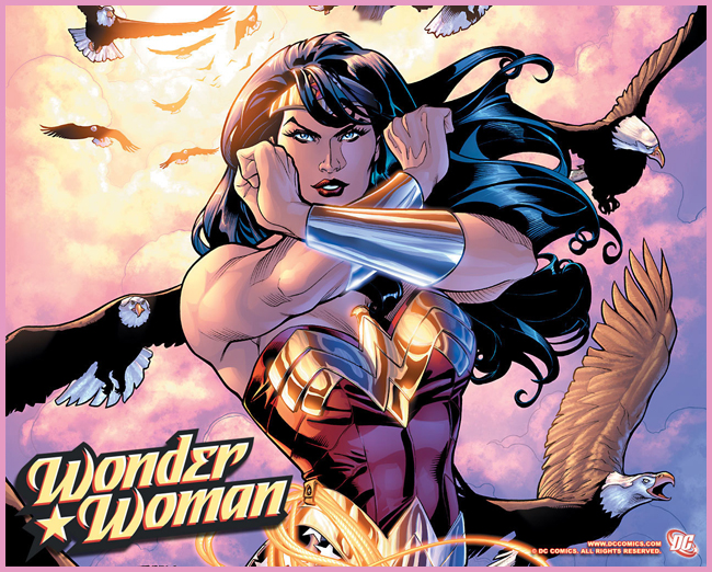 Tweedot blog magazine - wonder woman