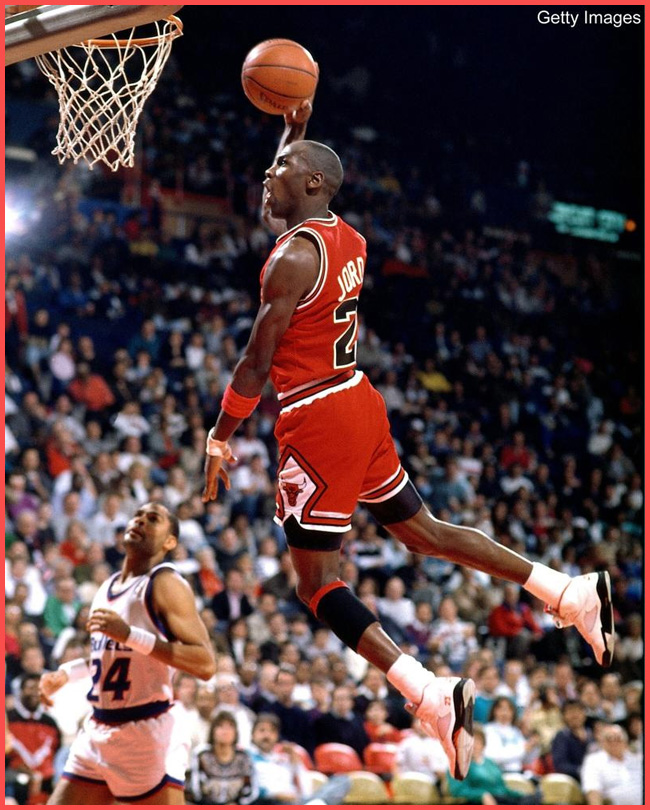 Tweedot blog magazine - Michael Joardan The Air foto sportive della storia