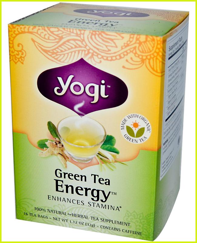 Tweedot blog magazine - Yogi tè verde