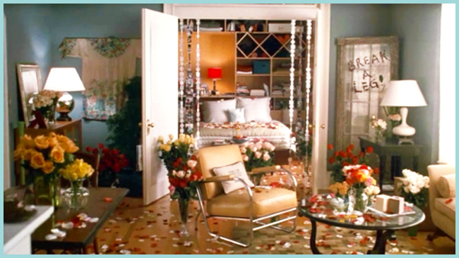 Tweedot blog magazine - spring roses apartment