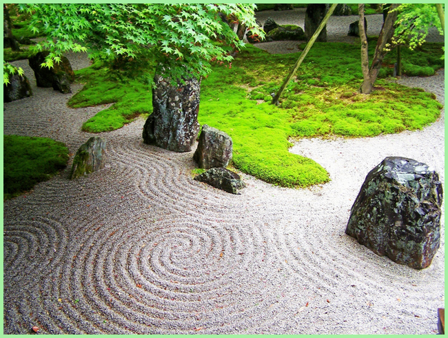 Tweedot blog magazine - zen garden