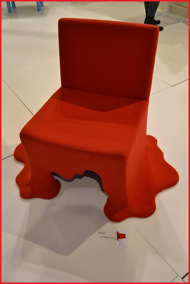 Tweedot blog magazine - Salone del Mobile Paint Chair Elisa Previtali