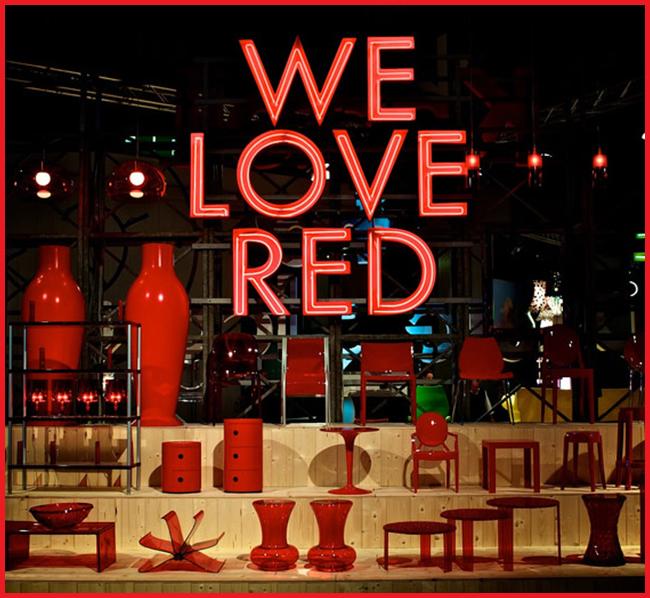 Tweedot blog magazine - Salone del Mobile di Milano Love Red