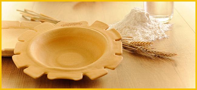 Tweedot blog magazine - Pappami piatto commestibile Made in Italy