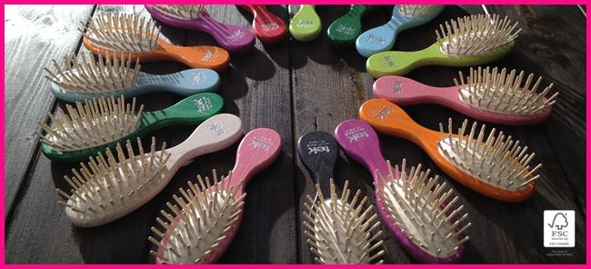 Tweedot blog magazine - Tek spazzole e pettini di alta qualità in legno