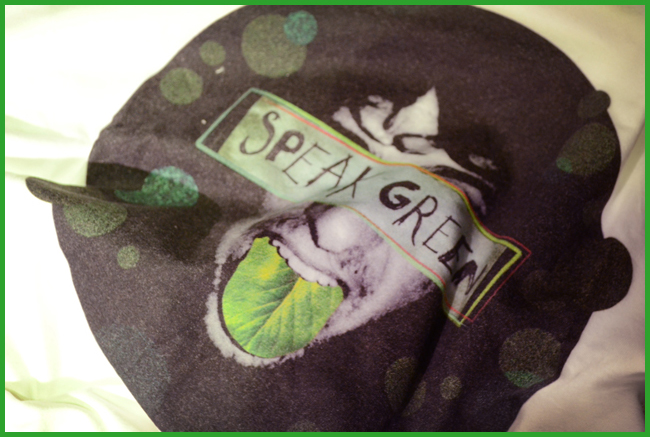 Tweedot blog magazine - YOJ b-shirt bio t-shirt made in italy speak green
