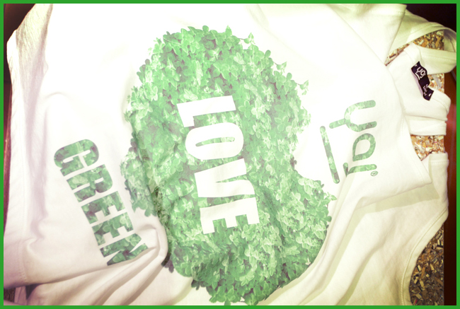 Tweedot blog magazine - YOJ loves green magliette in cotone bio Made in Italy Pitti Woman 2013