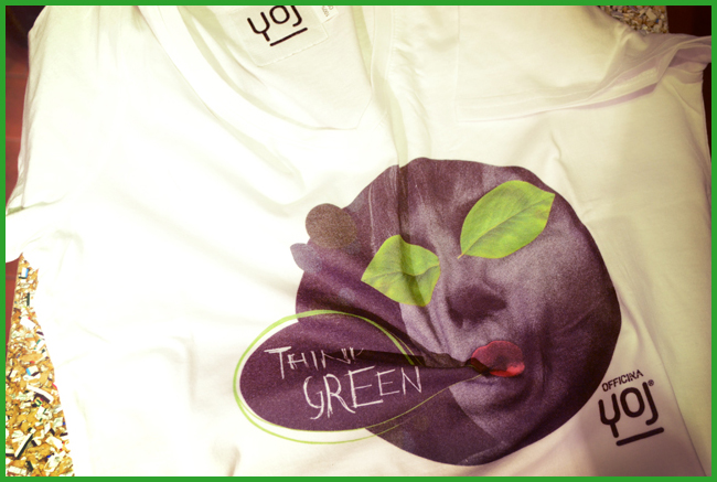 Tweedot blog magazine - think green magliette bio di YOJ Made in Italy le b-shirt