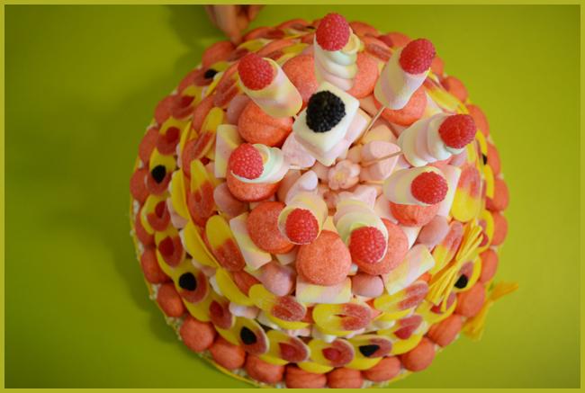Ben noto A Scuola con una Torta di Caramelle - Tweedot blog GD33