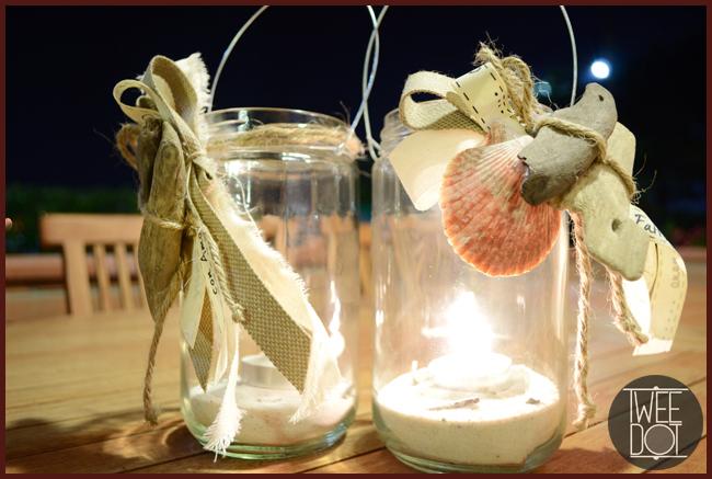 Tweedot blog magazine - decorare i tavoli estivi con lanterne fatte a mano