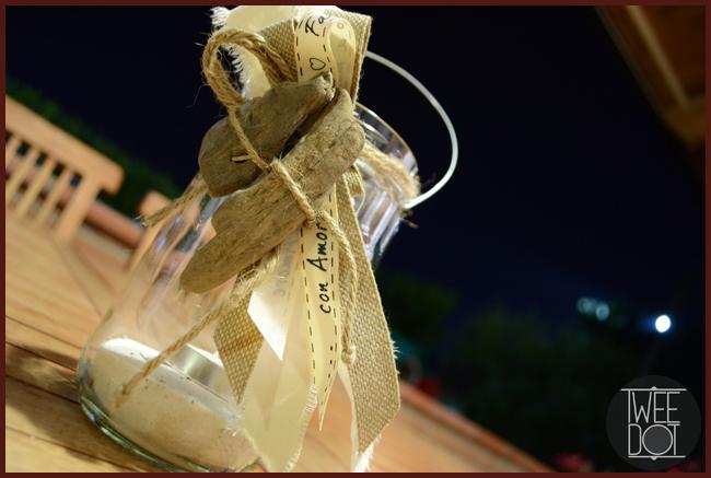 Tweedot blog magazine - lanterna fatta a mano con vasetti di vetro
