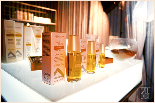 Tweedot blog magazine - Diamond Semi di Lino trattamenti per capelli Alfaparf Milano