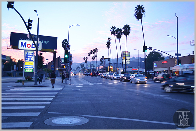 Tweedot blog magazine - Hollywood sunset LA