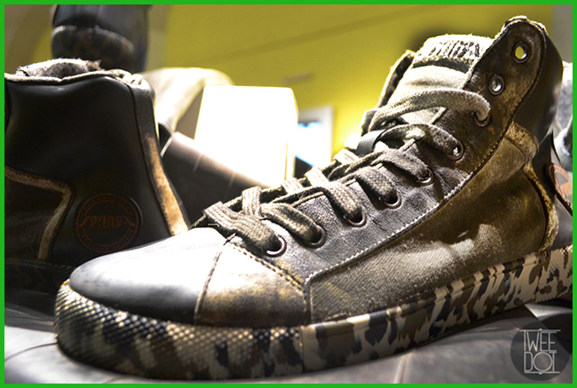 Tweedot blog magazine - sneakers Springa camouflage sulla suola