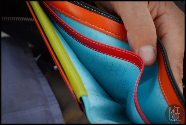 Tweedot blog magazine - wallet Colorful DuDu
