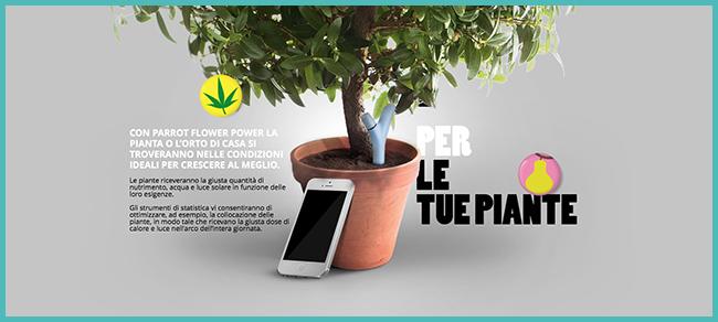 Tweedot blog magazine - Non far morire le piante con Parrot Flower Power