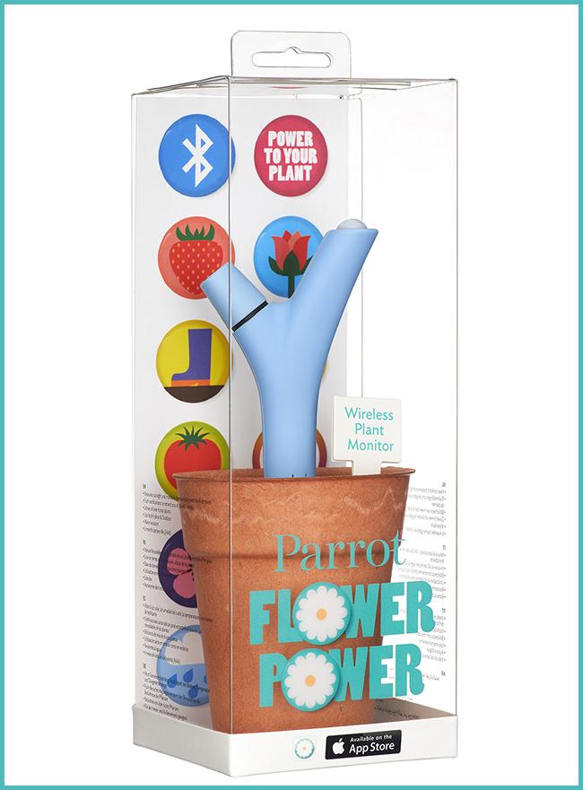 Tweedot blog magazine - Parrot Flower Power - tecnologia per la casa