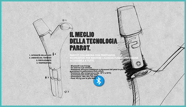 Tweedot blog magazine - Parrot Technology Flower Power aiuta a far crescere le piante rigogliose