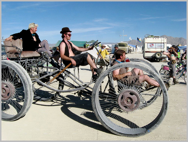 Tweedot blog magazine - burning man festival d'arte nel deserto della california