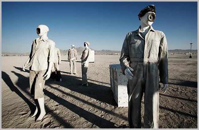 Tweedot blog magazine - festival d'arte sculture nel deserto di Reno California Stati Uniti