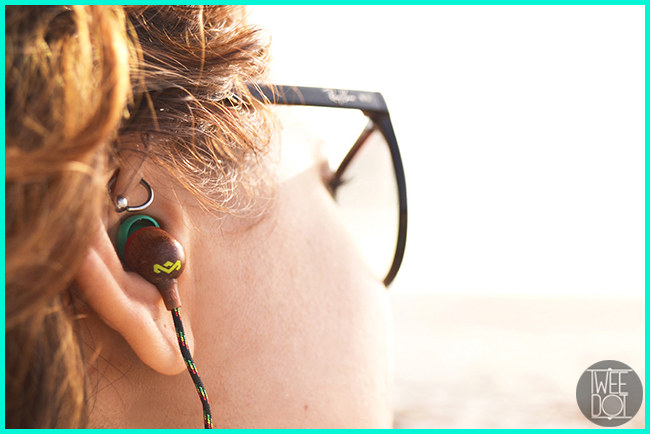 Tweedot blog magazine - in ear headphones House of Marley California