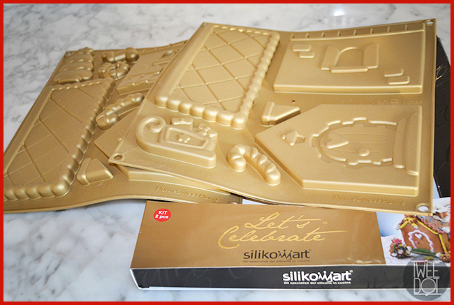 Tweedot blog magazine - Silikomart silikon mold Gingerbread House stampi