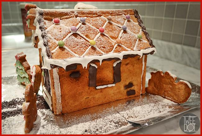 Tweedot blog magazine - idea per creare in cucina con i bambini e i ragazzi - casetta natalizia