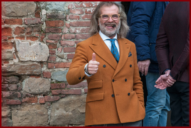 Tweedot blog magazine - Fashion People from Florence Pitti Uomo 85