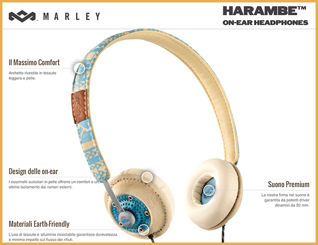 Tweedot blog magazine - Harambe cuffie on-ear