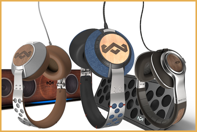 Tweedot blog magazine - House of Marley Headphones CES 2014 Las Vegas