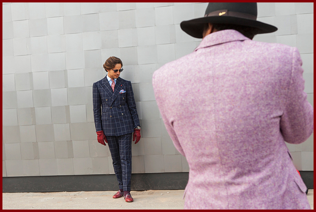 Tweedot blog magazine - Karl Edwin Guerre Photographer Pitti Uomo 85 Fall Winter 2015