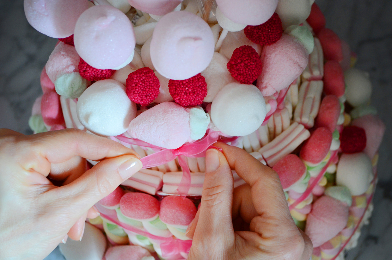 Tweedot blog magazine - torta di compleanno di caramelle