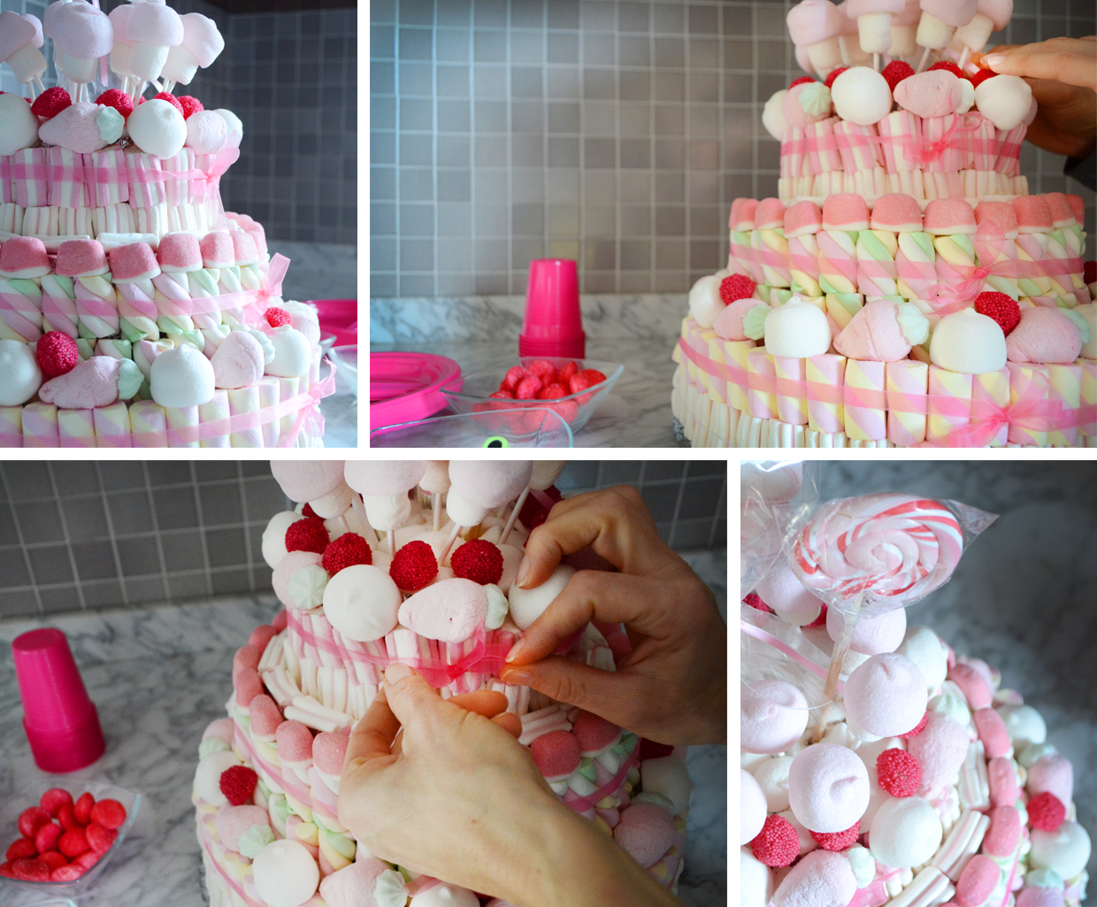 Tweedot blog magazine - torta di marshmallows per bambina