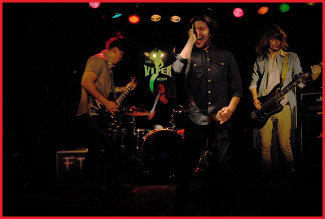 Tweedot blog magazine - Fire The Animal Indie band at The Viper Room Los Angeles