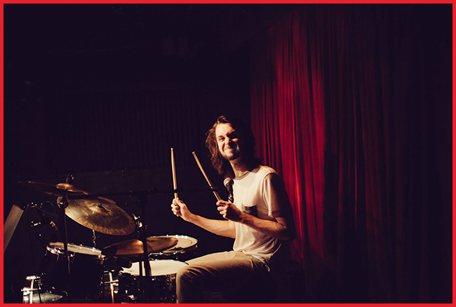 Tweedot blog magazine - Fire The Animal drummer Marshall Bryceson