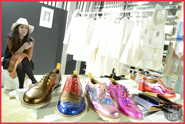 Tweedot blog magazine - L'F Unisex shoes Made in Italy - Licia Florio stylist
