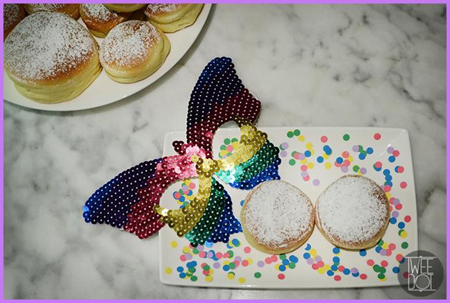 Tweedot blog magazine - ricette di carnevale krapfen al forno