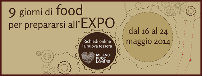 Tweedot blog magazine - Milano Food Week 2014 Food Lovers