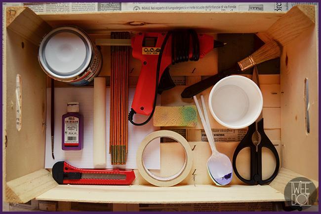 Tweedot blog magazine - cosa serve per fare di una cassetta di legno un orto da balcone