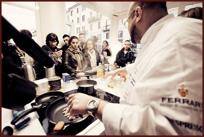 Tweedot blog magazine - eventi showcooking Milano Food Week