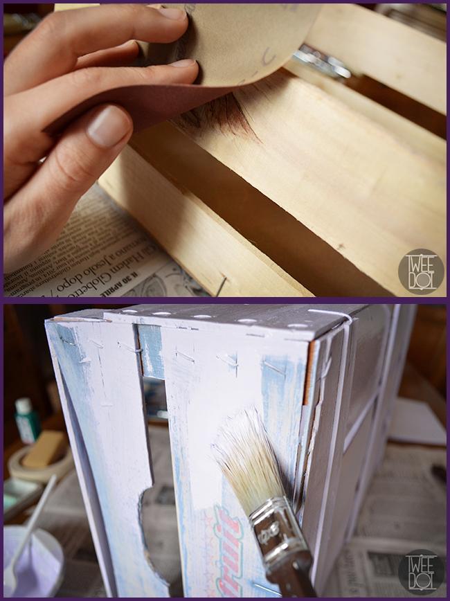 Tweedot blog magazine - riciclare cassettine di legno per la frutta