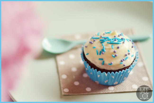 Tweedot blog magazine - decorazione semplice per cupcake